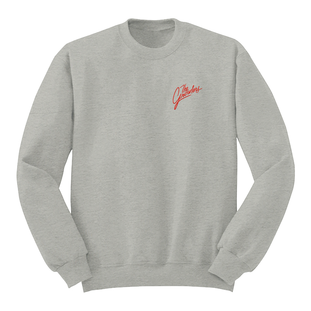 Cursive Embroidered Crewneck