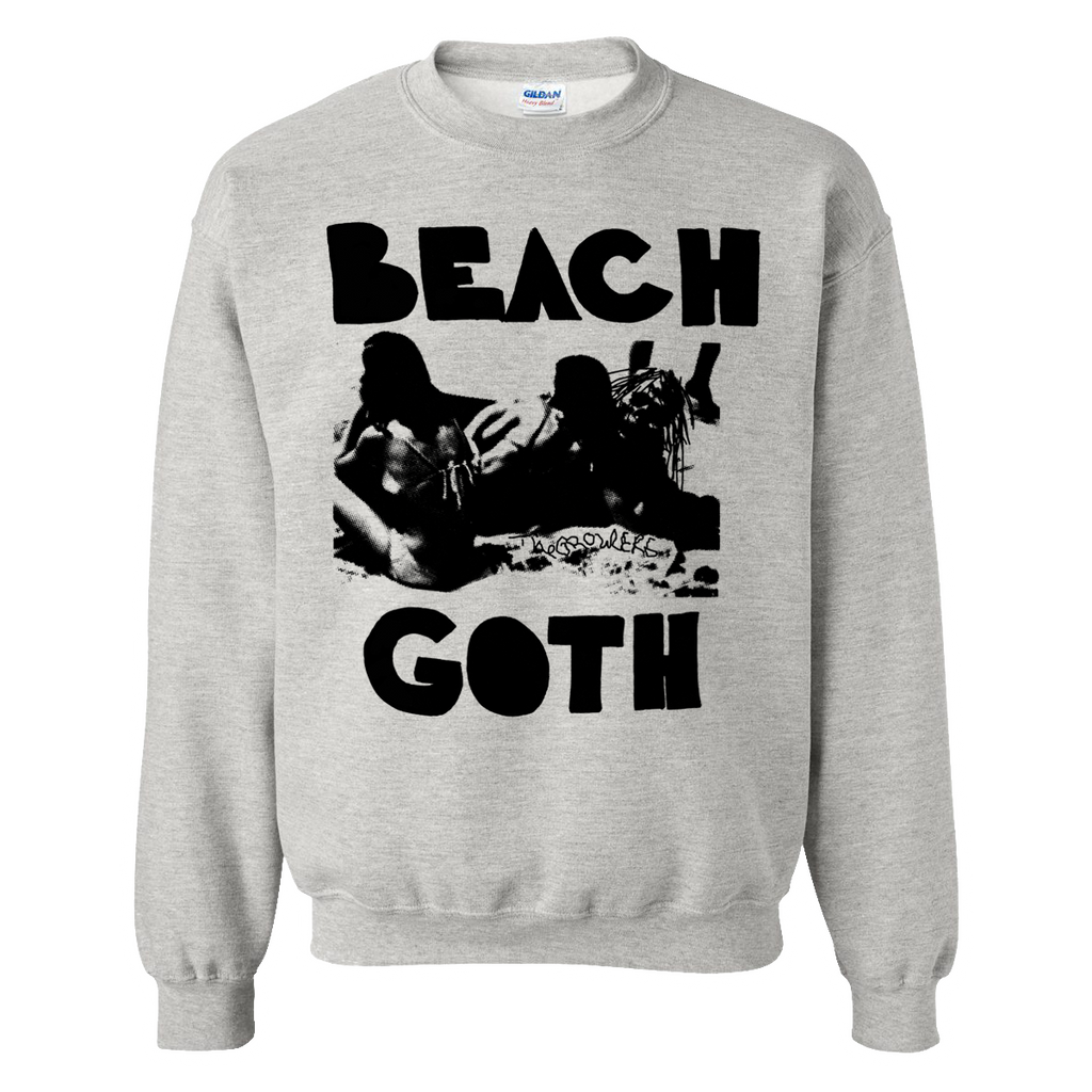 Beach Goth Crewneck Sweatshirt