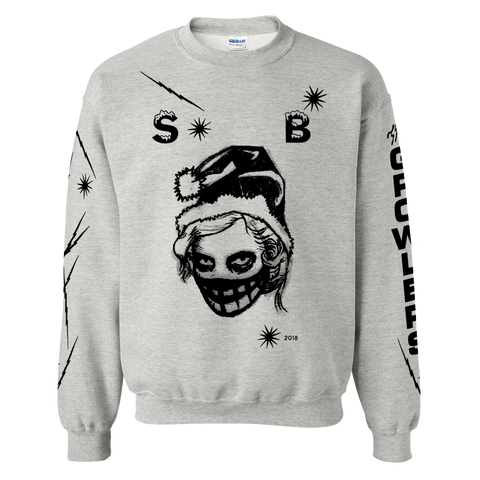 2018 Snow Ball #3 Crewneck Sweatshirt -  Grey