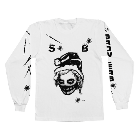2018 Snow Ball #3 Longsleeve T-Shirt - White