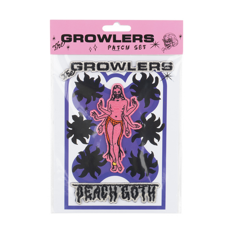 The Growlers Collectible Patch Set