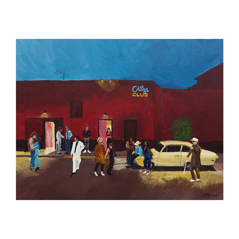 City Club by Pamela Littky: Exclusive Signed and Numbered Limited Edition Print - The Growlers