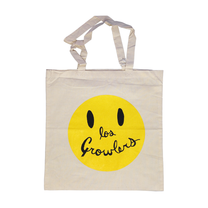 Smiley Face Tote Bag - The Growlers