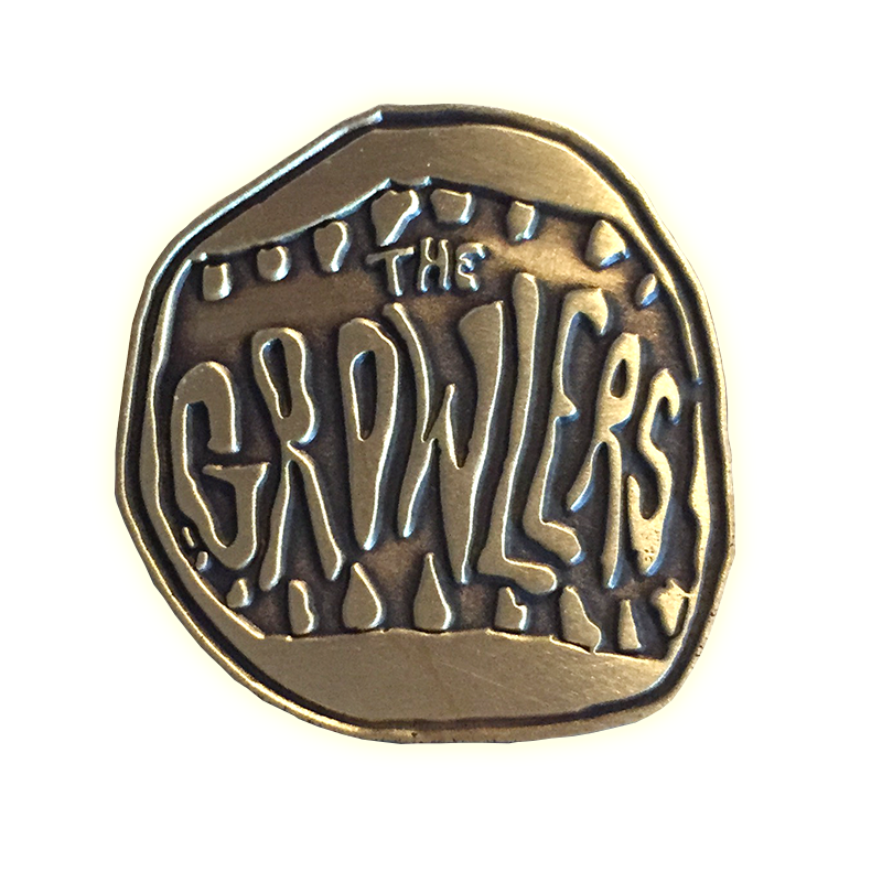 Classic Mouth Logo Gold Mouth Pin - The Growlers