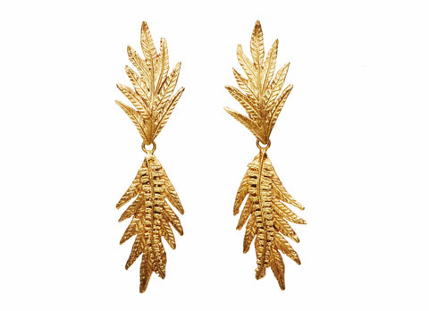 Casa Flora Fern Earrings