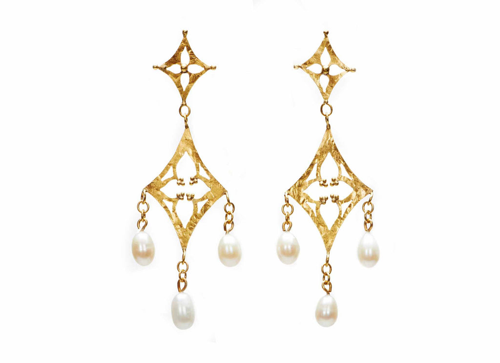 Gothic Chandelier Earrings
