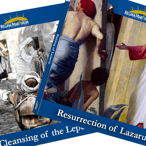 The Resurrection of Lazarus & The Cleansing of the Leper