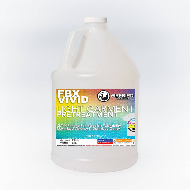 Firebird FBX-VIVID White Garment Pretreatment 1 Gallon