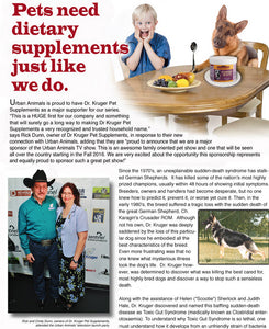 Pets need dietary supplements just like we do!