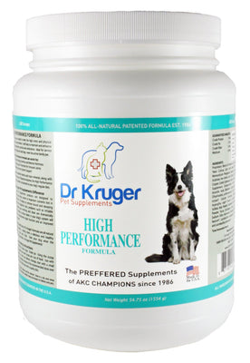 Dr Kruger High Performance Formula 54.75 Ounce Dog Supplement