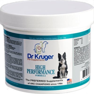 Dr Kruger High Performance Formula 20 Ounce Dog Supplement