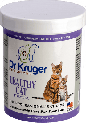 Dr Kruger Healthy Cat Formula 5 Ounce Supplement