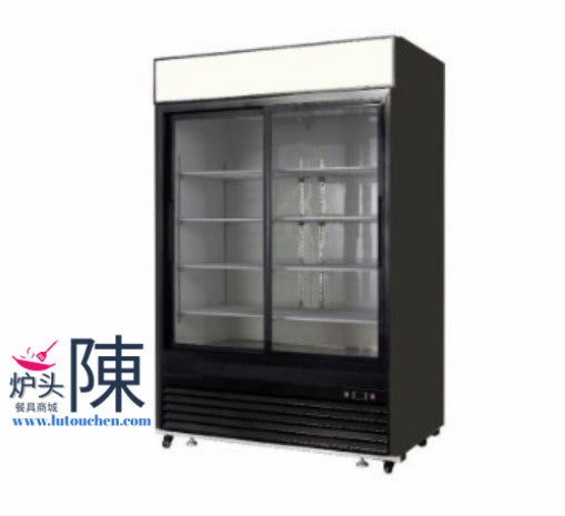 JDM-41 Glass Door Merchandiser 48寸双门冷饮售卖柜