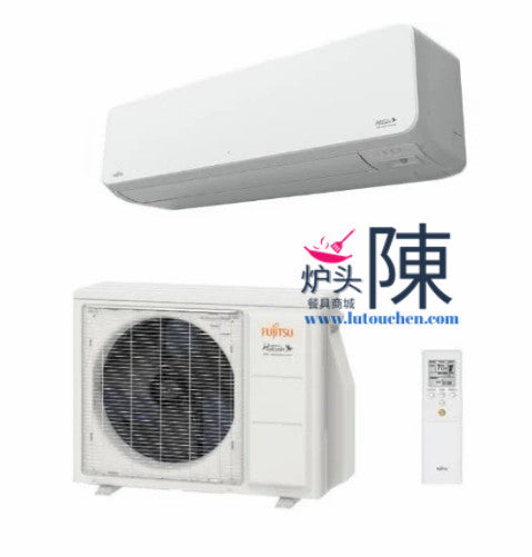 Fujitsu 09LZASH1 9000BTU 33.1 High SEER Mini Split Extra Low Temp Heating Wall Mounted AC System 9K BTU低温加热冷暖分体空调