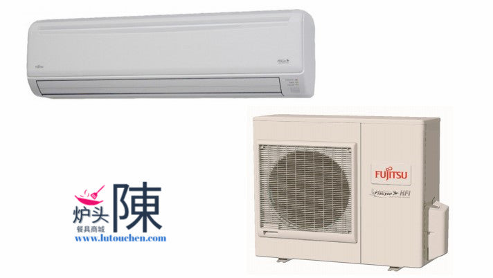 Fujitsu 24RLXFWH 18000BTU 19.5 High SEER Mini Split Extra Low Temp Heating Wall Mounted AC System 18K BTU低温加热冷暖分体空调