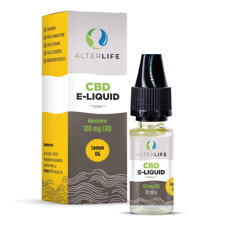 Alterlife - CBD E-Liquid (100 mg) - Lemon OG