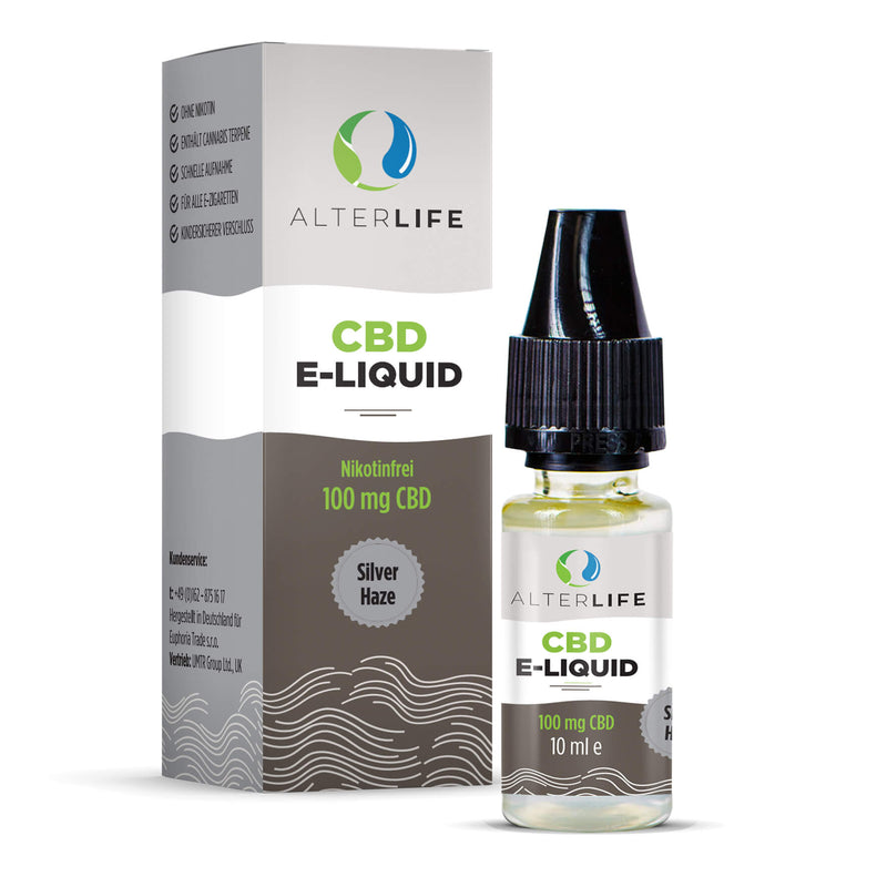 Alterlife - CBD E-Liquid (100 mg) - Silver Haze