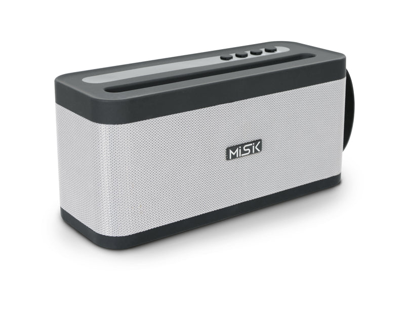 Bocina Bluetooth MISIK MS203 Gris/ TWS / USB / SD / FM