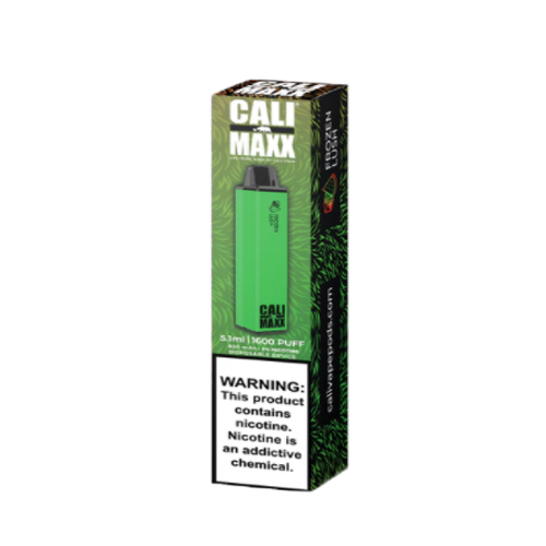 cali maxx frozen lush disposable vape