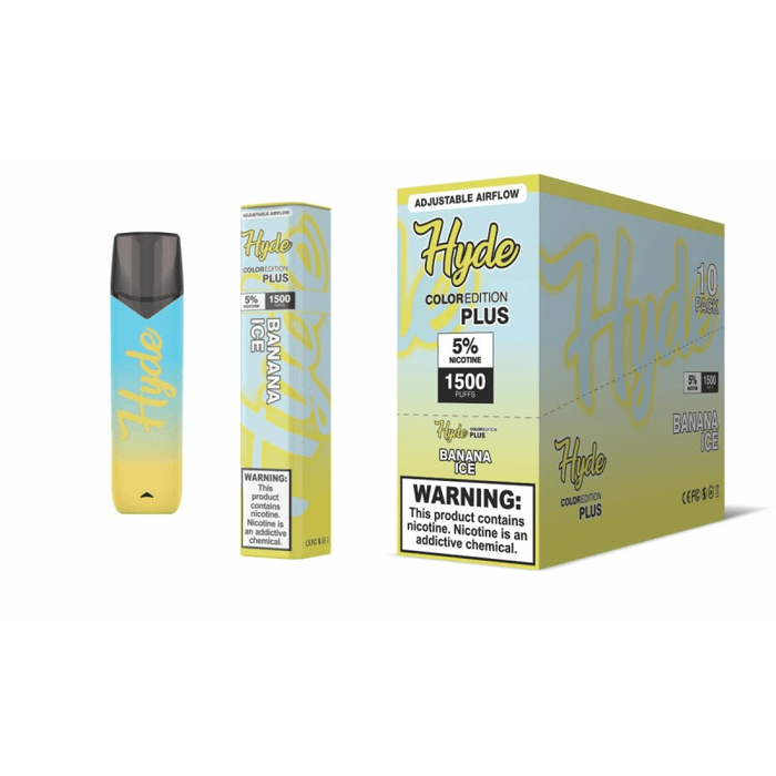 hyde plus banana ice disposable vape