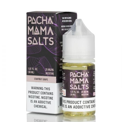 pachamama starfruit grape salt vape juice