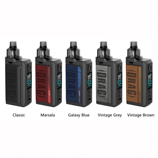 voopoo drag max all colors vape pod kit