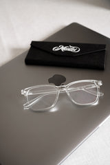 KENT - CRYSTAL-GLACIER-eyewear- Blue-Light-Blocking-TR90-UV400-hardcase-cloth