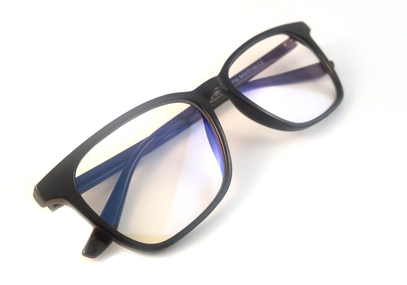 kent-black-blue-light-blocking-UV400-clear-lens