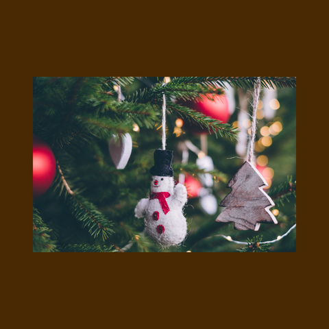 Daisy Farmhouse Stand holiday decorating with wax melts