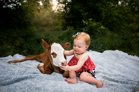 Toddle with Calf