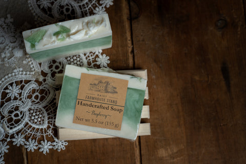 Daisy Farmhouse Stand Bayberry Handcrafted Soap
