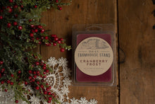 Load image into Gallery viewer, Daisy Farmhouse Stand Cranberry Frost Wax Melt Wax Melt Daisy Farmhouse Stand 2.5 oz Wax Melt Bar