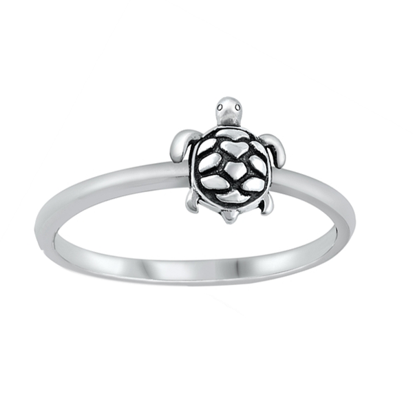 Dainty Turtle Ring