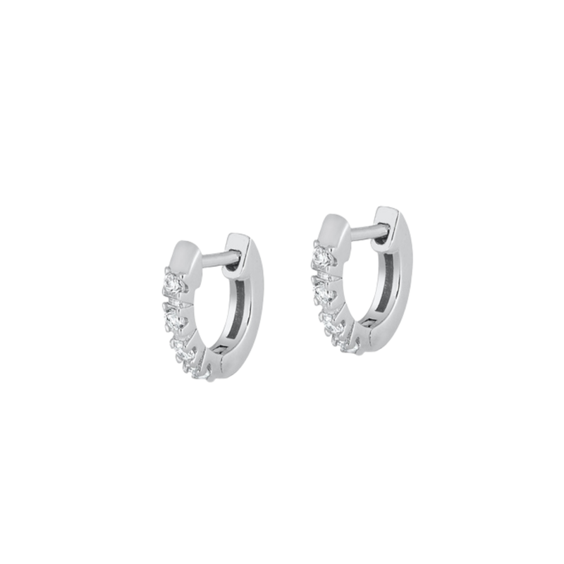 Alana Huggie Hoop Earrings