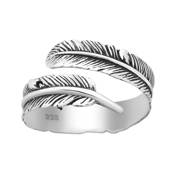Fall Feather Ring