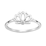 Raina Lotus Ring