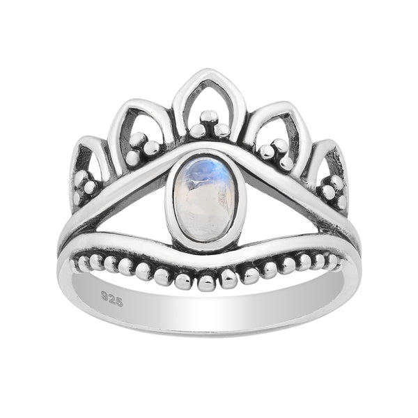 Float Moonstone Ring