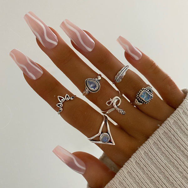 Arabella Moonstone Ring