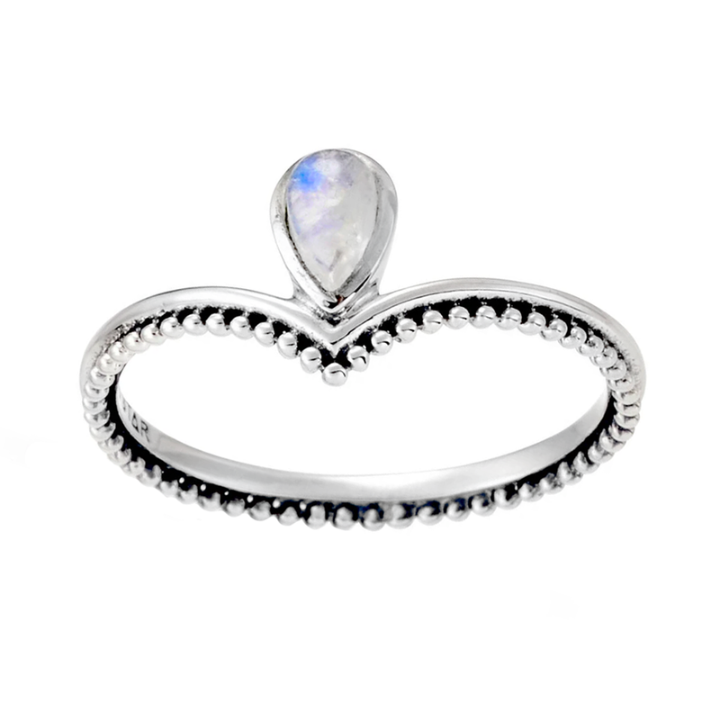 Reign Moonstone Ring