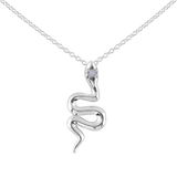 Snake Charmer Moonstone Necklace