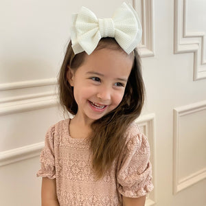 Luna Bow Headband