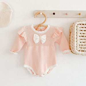 Bow Sweater Romper