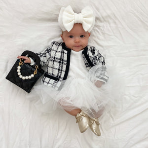 Coco Tweed Jacket & Tutu Dress Set