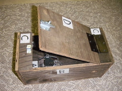 DO YOU LIKE TRAPPING?    Plans for building Ground Boxes for Trapping Weasels