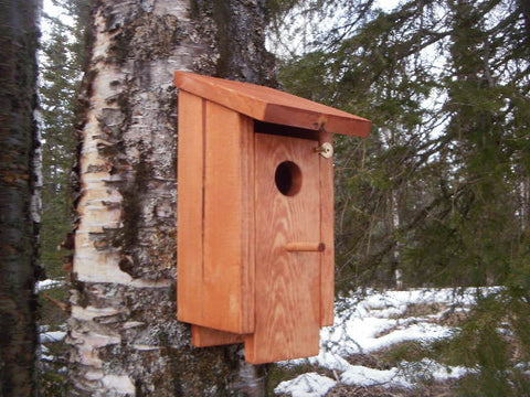 Alaska Single Unit Bird House Plans