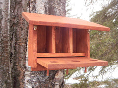 The Alaskan Three Unit Bird House Plans