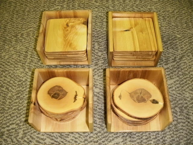 Coaster And Coaster Holder Plans And Instructions