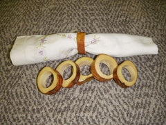 Alaskan White Birch Napkin Rings