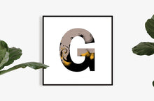 Load image into Gallery viewer, 'WILD G' From the Wild Alphabet.