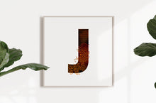 Load image into Gallery viewer, 'WILD J' From the Wild Alphabet.